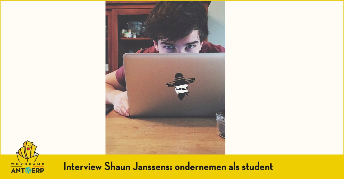 Interview Shaun Janssens: ondernemen als student
